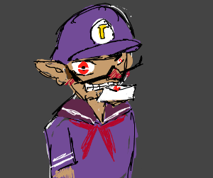 waluigi the yandere