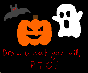 Draw what you will, PIO