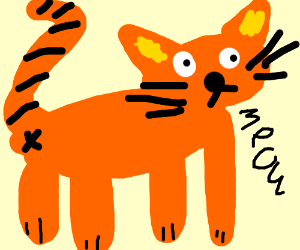 Derail this bc it's inappropriate. draw a cat smth