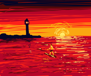 Surfing to Lighthouse