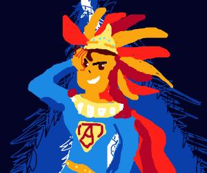 Aztec Superman