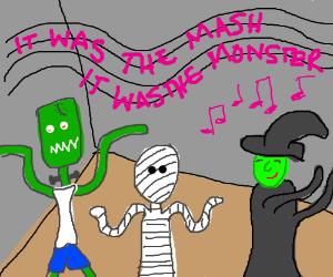 Dancn to the Monster Mash