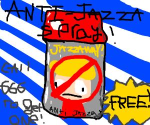 anti jazza spray