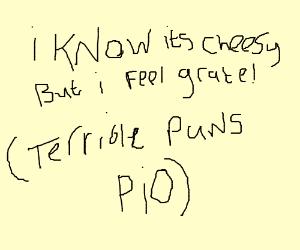 Terrible Pun PIO (Pass it on)