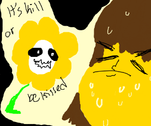 Undertale Kid with Floey