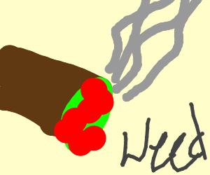 81413d72650 smoke weed everyday drawing by OooOOOoOo - Drawception