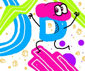 Mario Odyssey drawception logo