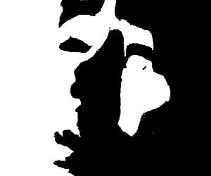 asymmetric ink blot test