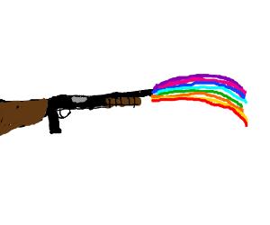rainbow gun
