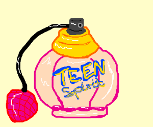 Eau de teen spirit