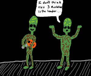 Aliens don't need costumes to trick or treat