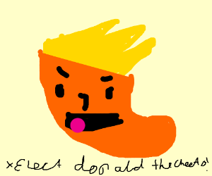 Trump the angry cheeto