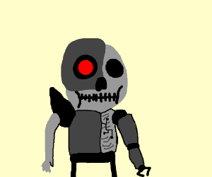 Dead Half Robot Man