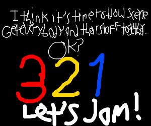 okay 3 2 1 let s jam drawception