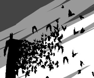 Batman,... being more bat than man