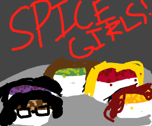 Spice Girls, but actual spices