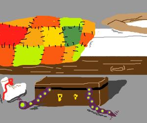 tha magic belt wiggles while you sleep