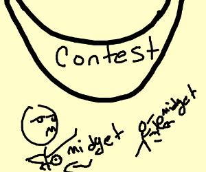 contest Midget throwing