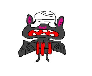 Bat suicide bomber