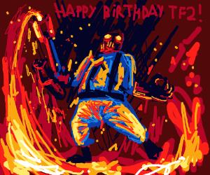 Happy Brithday TF2!