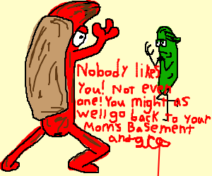 Hotdog vs Pickle: Rap Battle!