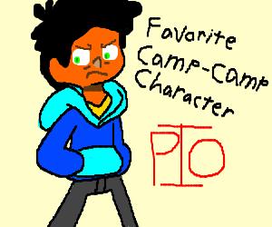 Favorite Camp Camp Character pio