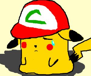Pikachu crying drawing - photo#29