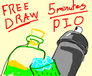 Free Draw in 5 minutes (PIO)