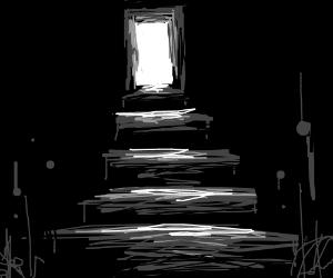 Open Door Dark Room Throughout Open Door Into Dark Room Drawing By Trackpad Hell Drawception
