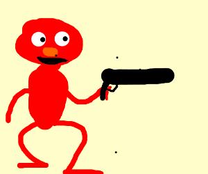 Scandalous Elmo Drawing By Hitba