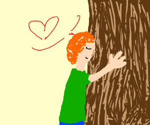 Hug the tree
