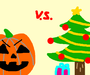 christmas vs halloween The nightmare before christmas jack assigns the citizens of halloween town christmas-themed jobs, including singing carols, making presents.