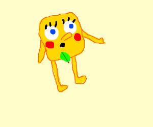 naked spongebob