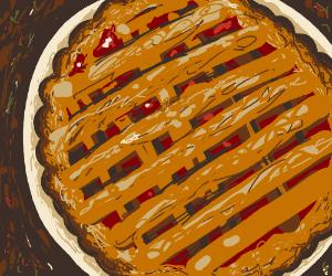 Freshly baked pie?