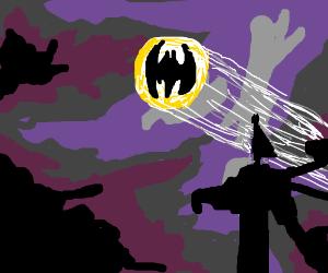 The Batman signal!