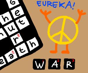 Peace solves War
