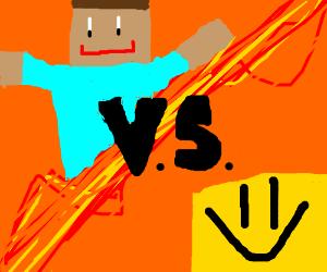 Minecraft Vs Roblox Drawception
