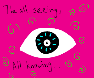 The all seeing, all knowing EYE