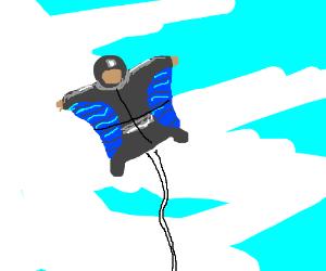 Human Kite