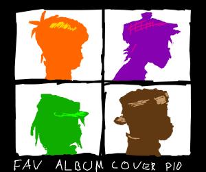 Draw your favorite album cover PIO