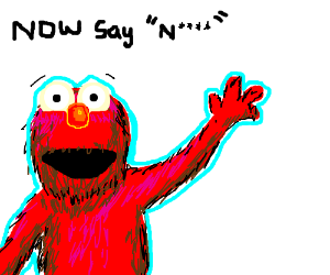 Elmo teaches us how to be racist