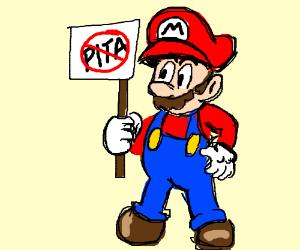Mario hates PITA