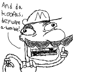 Old Man Mario talks about his horrific past