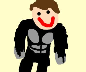 Man in an ape suit.