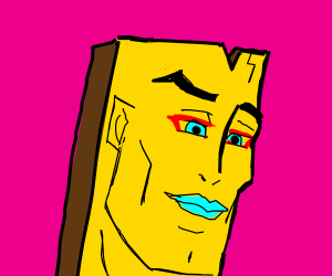 Extremely handsome Plank from Ed Edd and Eddy