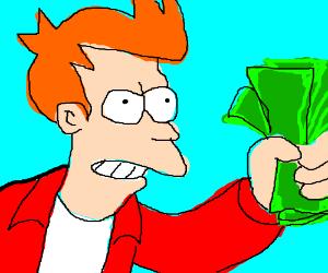 Fry Futurama Meme
