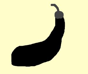 Monochrome eggplant