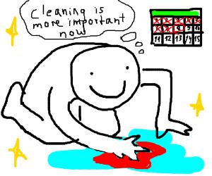 Procrastinating until the last minute