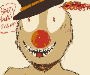 yelmo screaming Happy ThanksGiving!