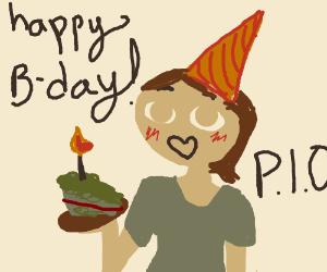 Happy Birthday!!! (P.I.O.)